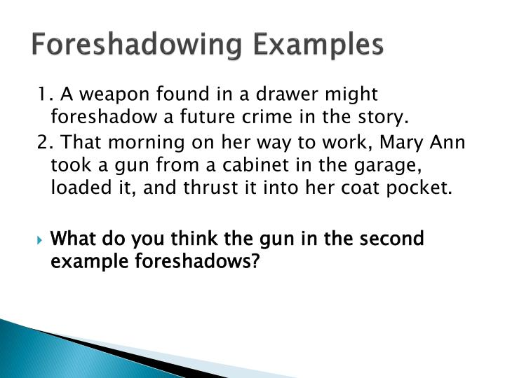 Foreshadowing Examples Related Keywords & Suggestions ...