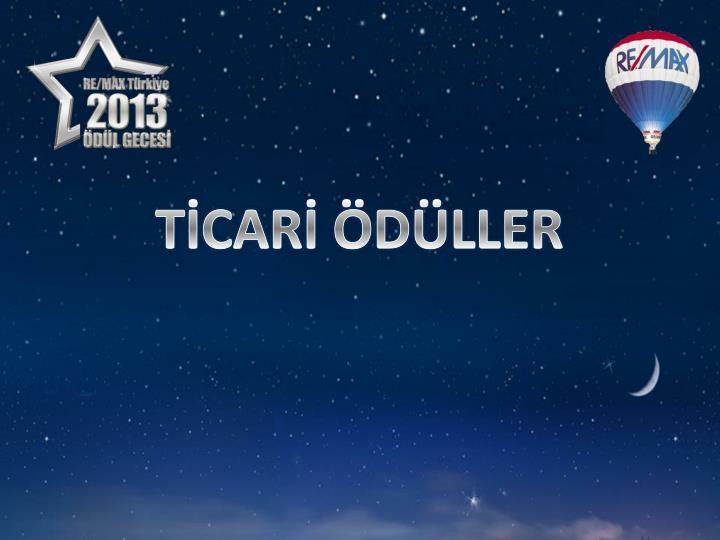 TİCARİ ÖDÜLLER