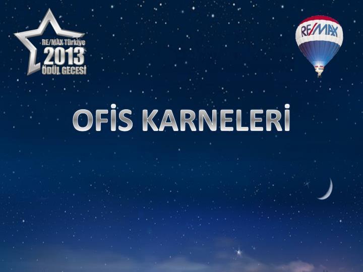 OFİS KARNELERİ