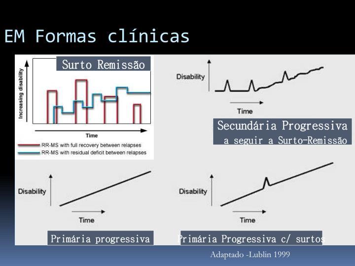 EM Formas clínicas