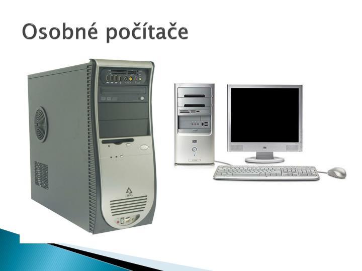 Osobné počítače