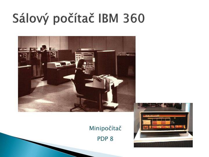 Sálový počítač IBM