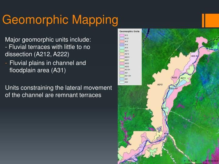 Geomorphic Mapping