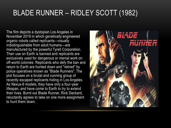 Blade Runner – Ridley Scott (1982)