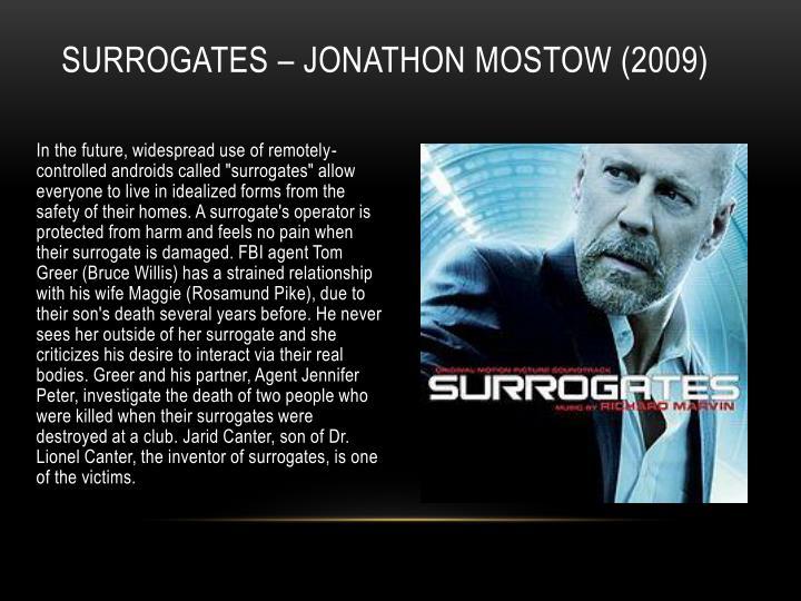 Surrogates – Jonathon
