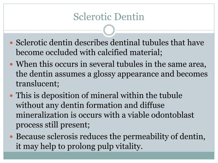 Sclerotic