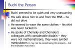 buchi the person