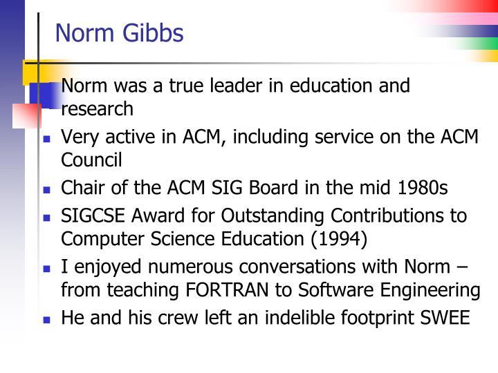 Norm Gibbs