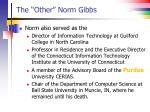 the other norm gibbs