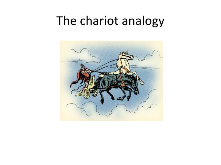 The chariot analogy