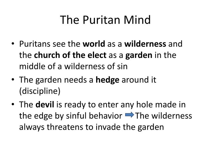 The Puritan Mind