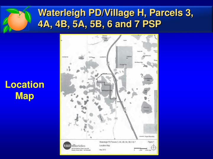 Waterleigh PD/Village H, Parcels 3, 4A, 4B, 5A, 5B, 6 and 7 PSP