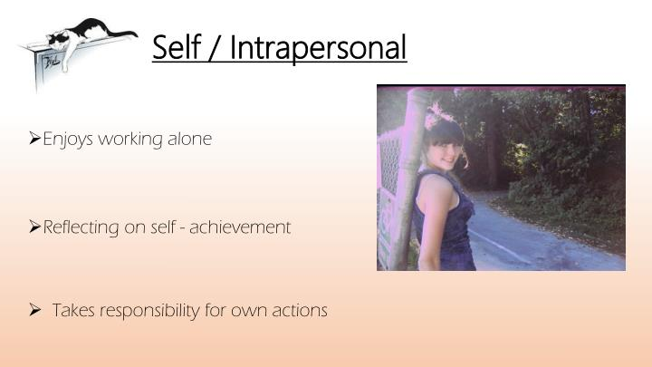 Self intrapersonal