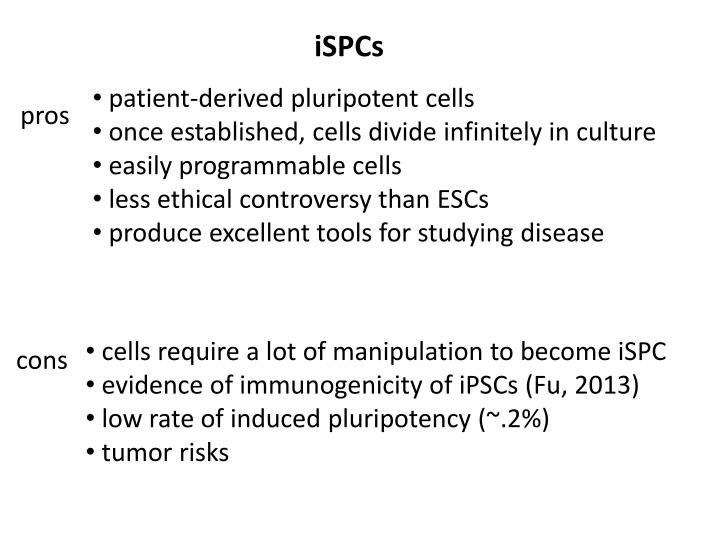 iSPCs