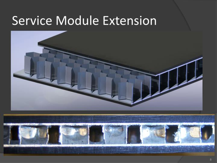 Service Module Extension
