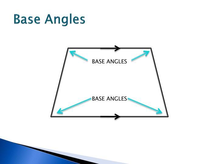 Base Angles