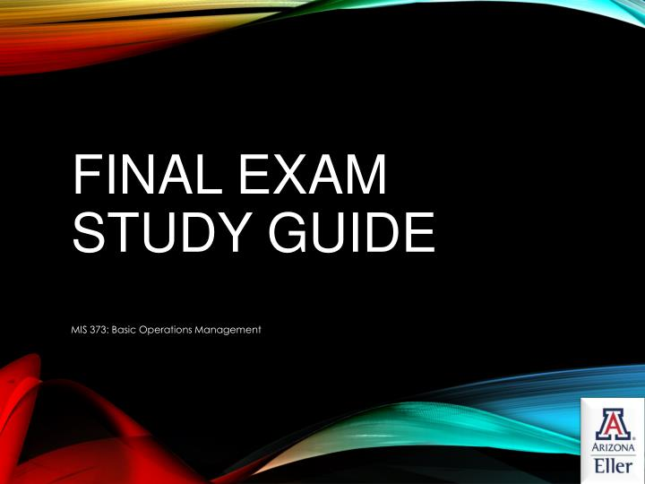 European qualifying examination - Guide for preparation