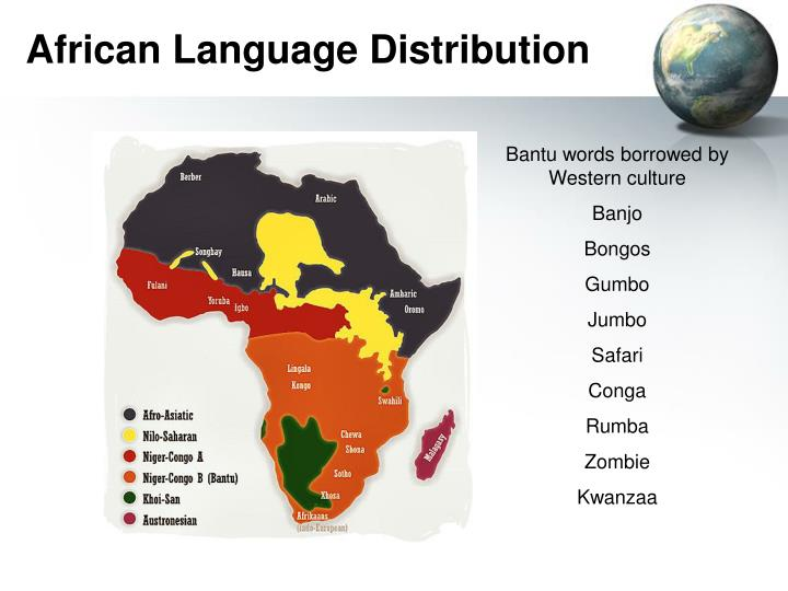 African Language Distribution