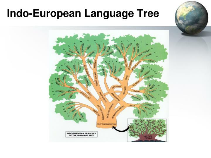 Indo-European Language Tree