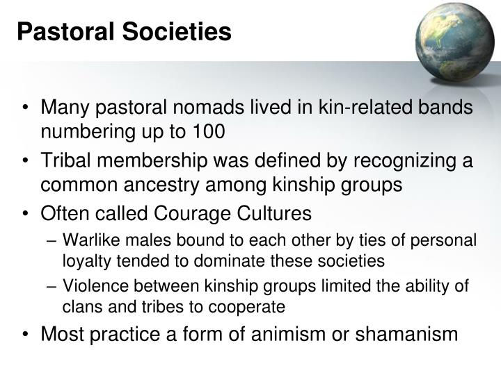 Pastoral Societies