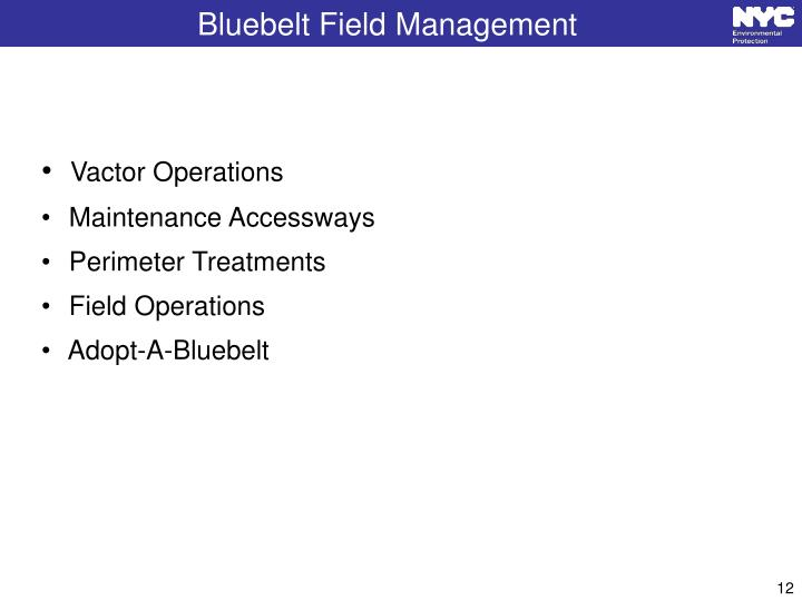 Bluebelt Field Management
