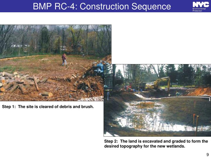 BMP RC-4: Construction Sequence