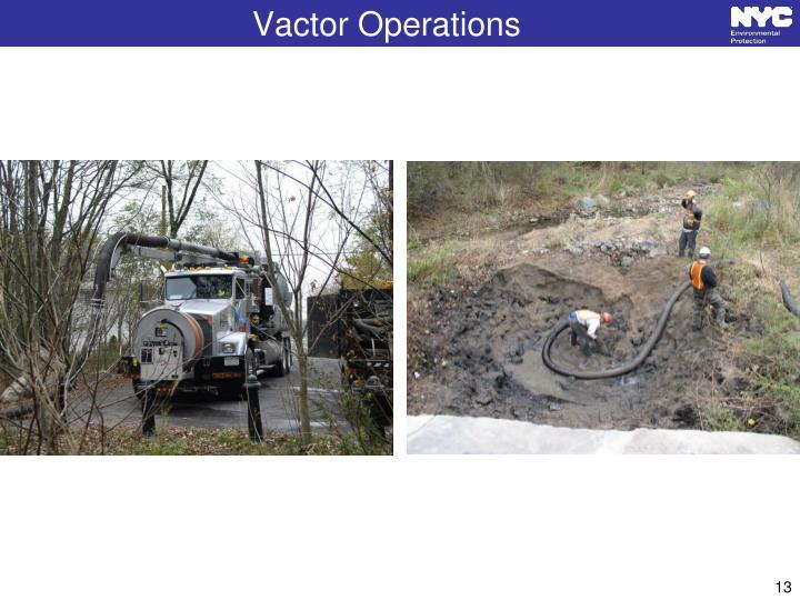 Vactor Operations