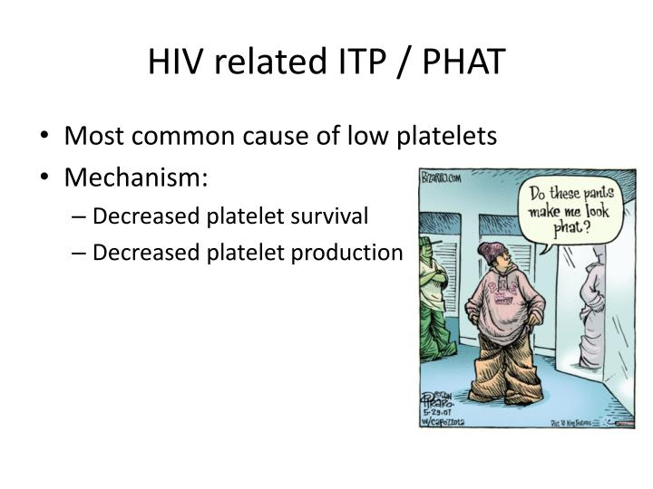 HIV related ITP / PHAT