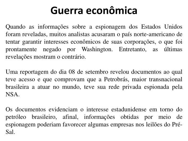 Guerra econômica