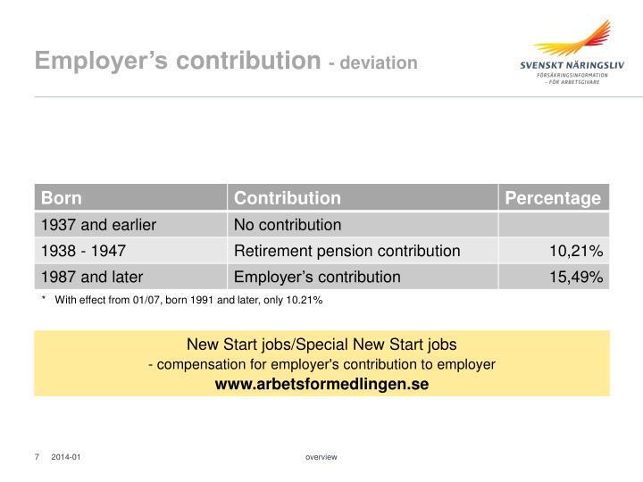 Employer's