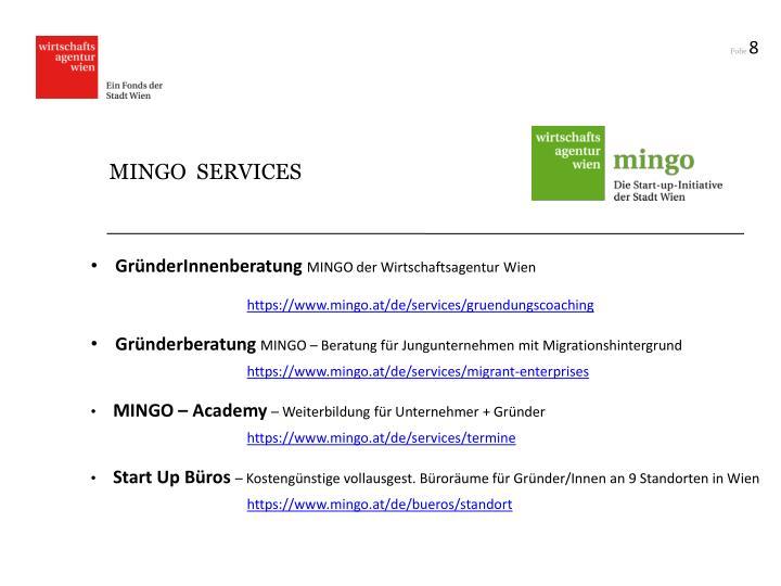 MINGO  SERVICES