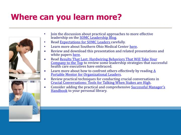 Where can you learn more?