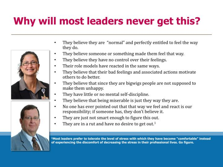 Why will most leaders never get this?