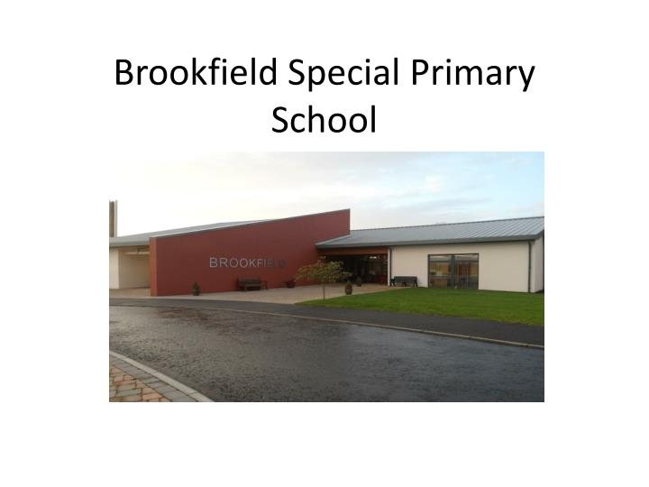 Brookfield special primary school