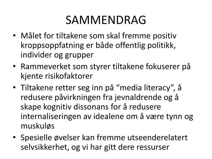 SAMMENDRAG