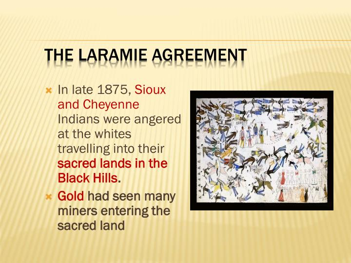 The Laramie Agreement