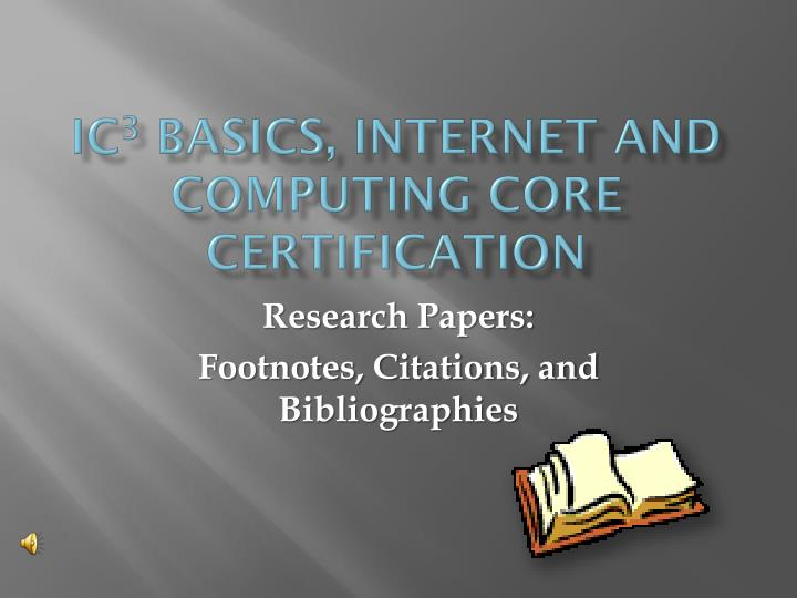 research paper footnotes On this page you can download free chicago format template, chicago research paper example you can learn about chicago research paper footnotes and endnotes.