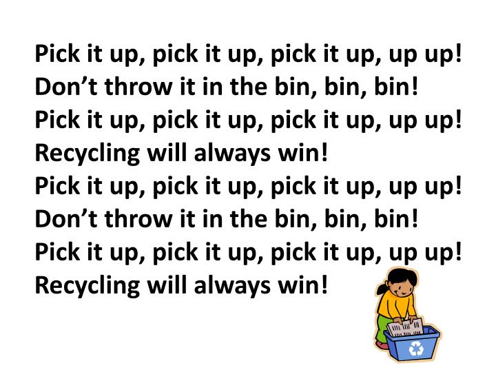 Pick it up, pick it up, pick it up, up up!