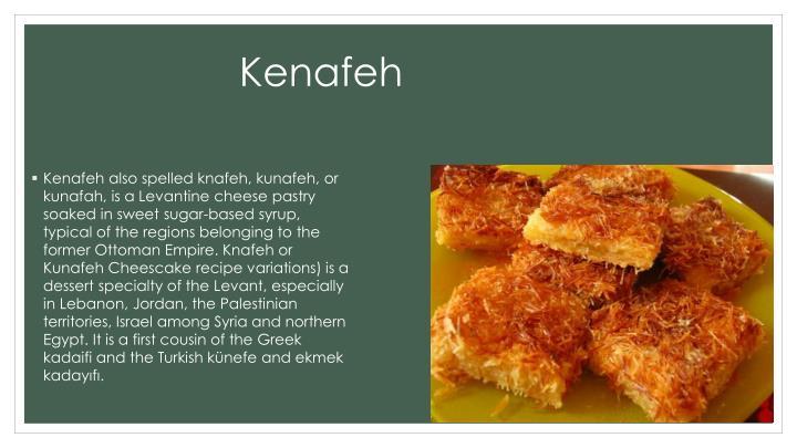 Kenafeh