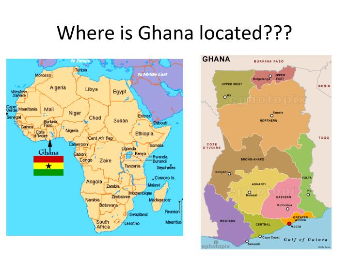 Where is Ghana located???