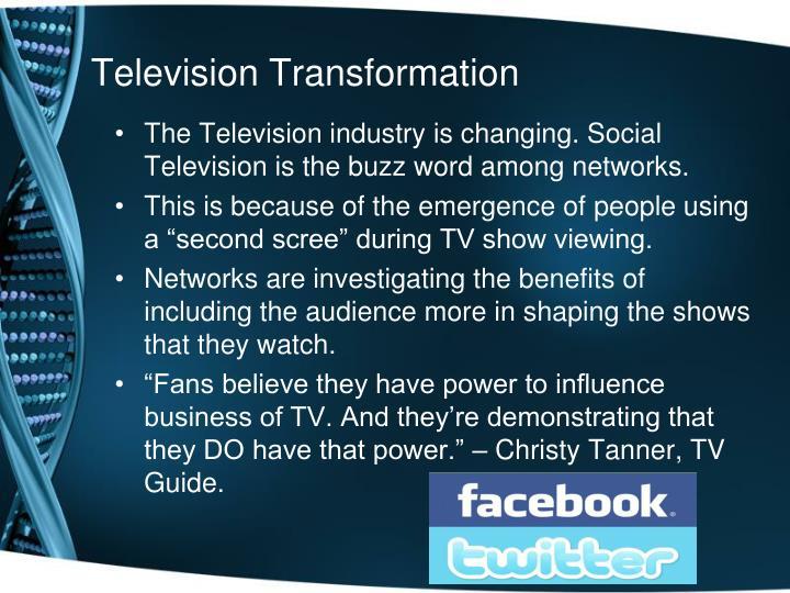 Television Transformation
