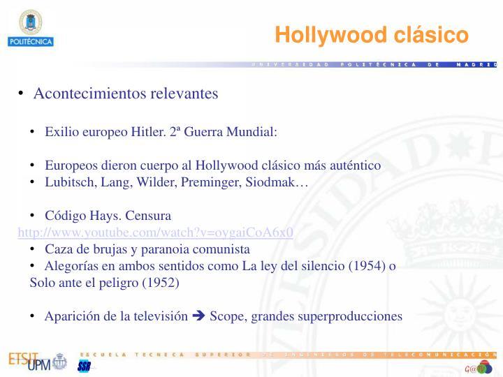 Hollywood clásico