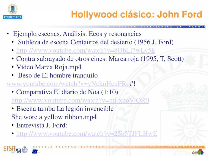 Hollywood clásico: John Ford