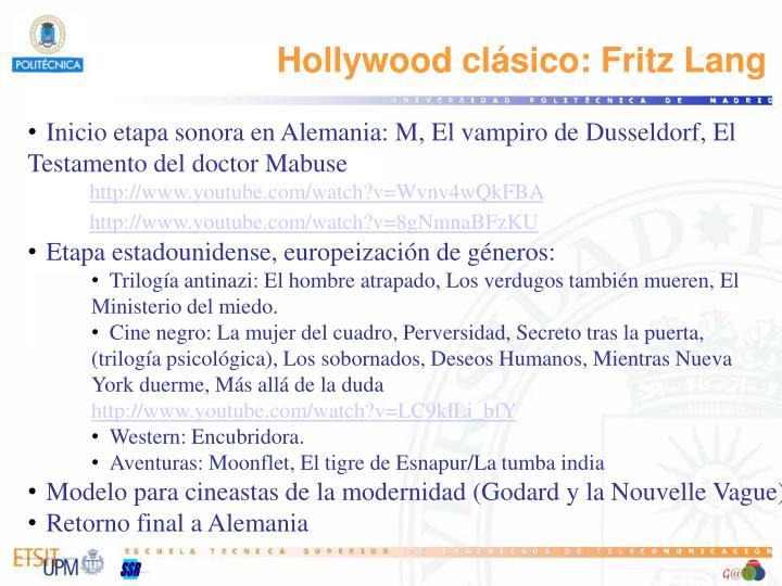 Hollywood clásico: