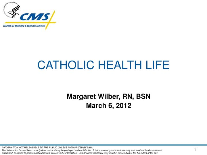 Catholic health life