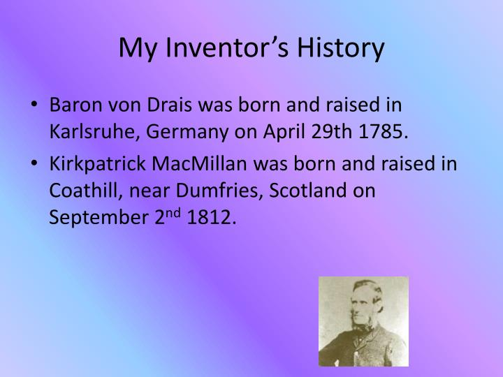 My Inventor's History