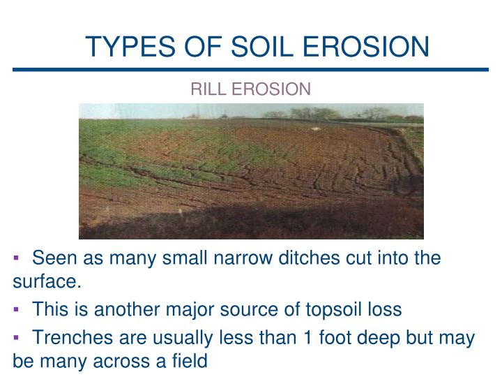 Types of soil erosion pictures to pin on pinterest pinsdaddy for 5 different types of soil