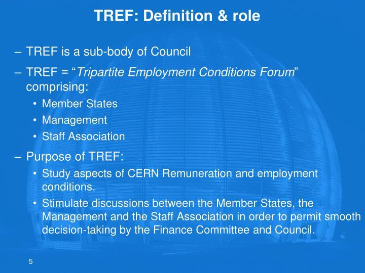 TREF: Definition