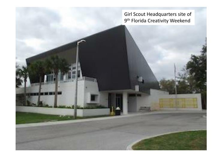 Girl Scout Headquarters site of