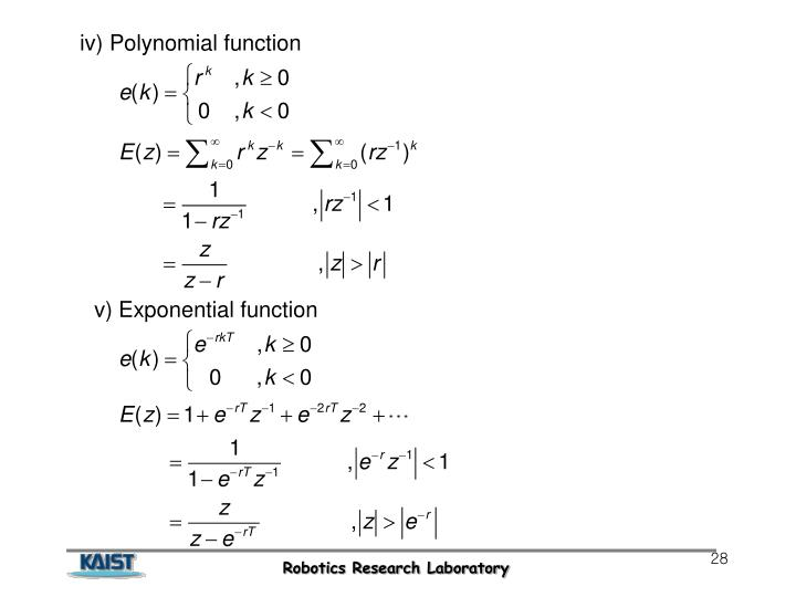 iv) Polynomial function